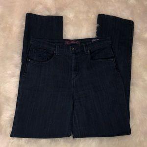 Gloria Vanderbilt Amanda high waist tapered jeans